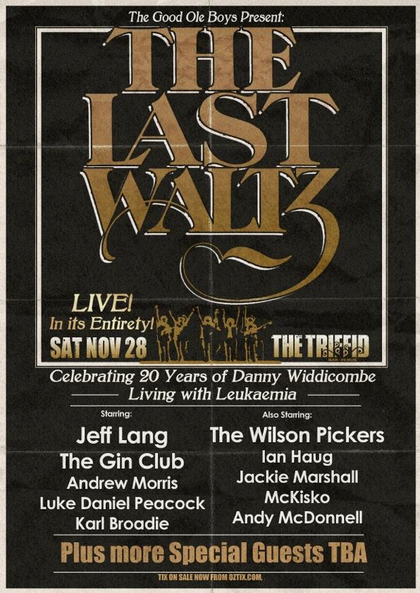 Last Waltz Poster